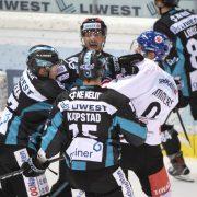 Haie aus Innsbruck verlassen erstmals seit 2014 in Linz als Sieger das Eis