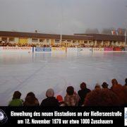 Buchloer Eishalle wird heuer 40 Jahre alt und blickt auf vier bewegte und ereignisreiche Jahrzehnte zurück