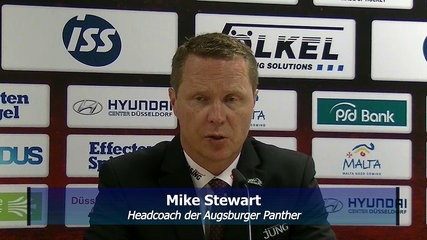 Panthercoach Mike Stewart