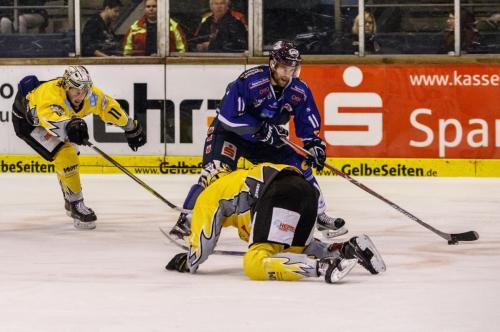 DEL2: Kassel Huskies - Bayreuth Tigers