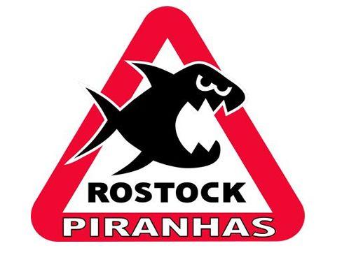 Moskitos und Adler warten auf die Rostock Piranhas