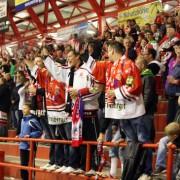 Gänsenhaut-Atmosphäre beim Eishockey
