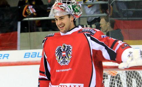 Vienna Capitals verlängern mit Team-Goalie Starkbaum