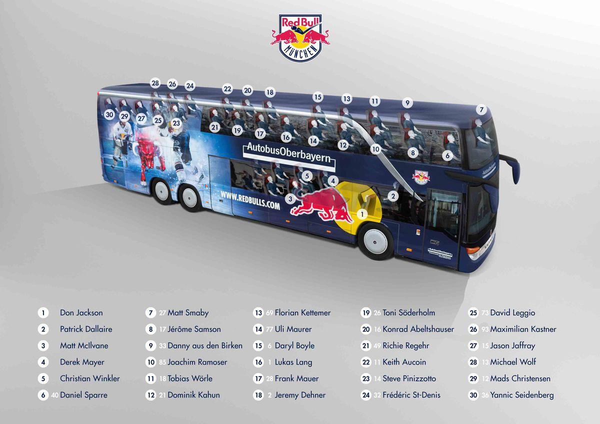 Red Bull Kühlschrank München : Red bulls haben ein neues rollendes wohnzimmer eishockey magazin