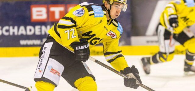 Sergej Stas weiter im gelb-schwarzen Trikot mit der #72