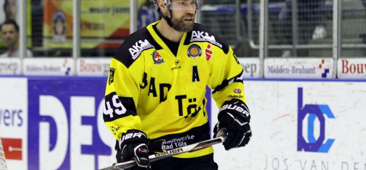Klaus Kathan sagt am Samstag dem aktiven Eishockey bye bye