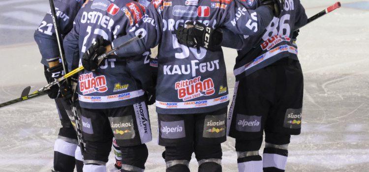 Andreas Lutz schießt Ritten zum 2:1-Sieg gegen Cortina