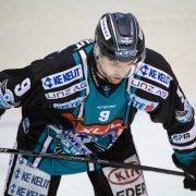 EBEL, 26. Spieltag: Die Black Wings aus Linz zogen den Haien in Innsbruck fünfmal die Zähne