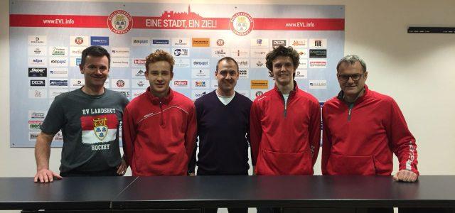 U20-Nationalspieler Marco Baßler bleibt dem EVL treu