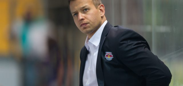 Matt McIlvane neuer Head Coach des EC Red Bull Salzburg
