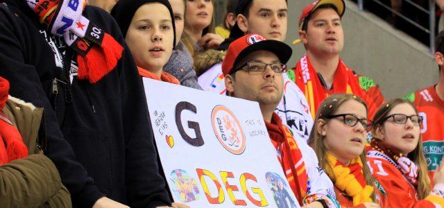 Nachlese: DEG kann nach Derbysieg weiter auf Playoffs hoffen, Abschiedsstimmung in Krefeld