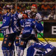 Huskies holen Heim-Dreier gegen Crimmitschau