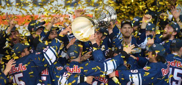 Meister-Hattrick für den EHC Red Bull München