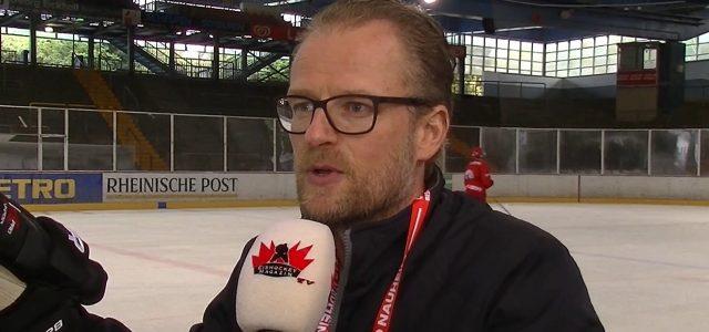 """Bad Nauheims Coach Christof Kreutzer zurück in Düsseldorf – """"Wir sind in erster Linie hier, um zu trainieren …"""""""