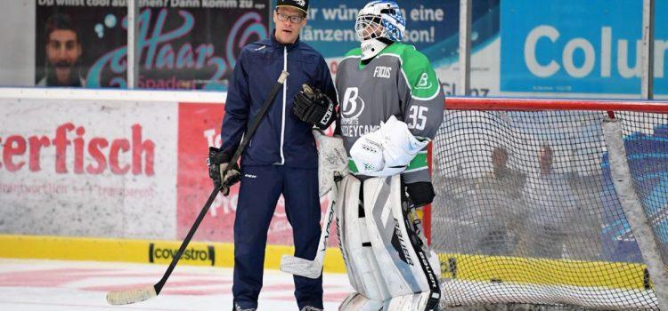 Niklas Deske und Marko Suvelo beim Buma-Sports-Camp