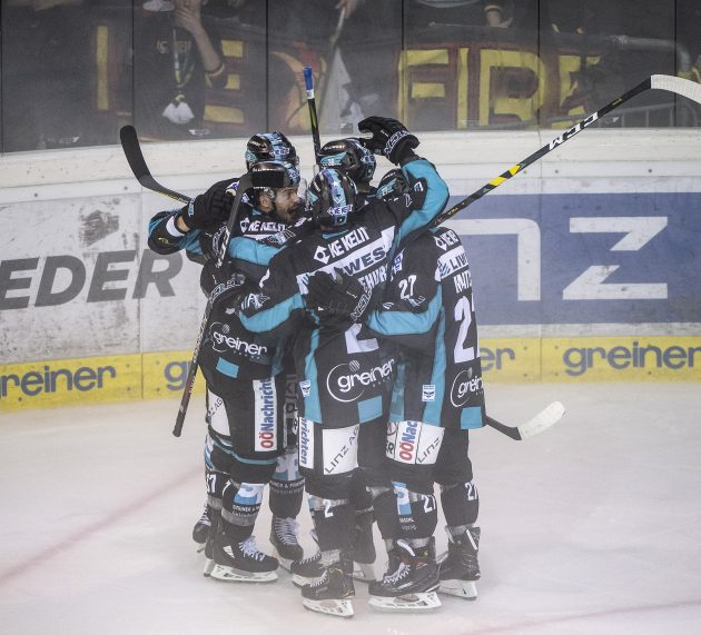 Erstes gutes Gespräch mit Linzer Eishockeyverantwortlichen
