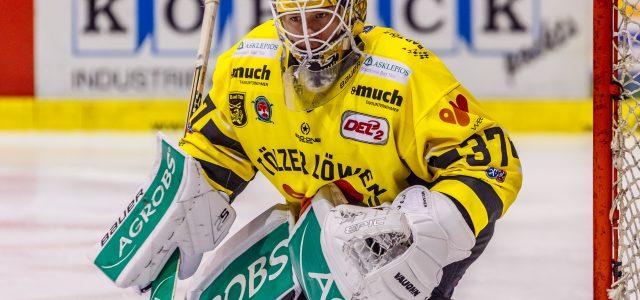 Ben Meisner hütet in der kommenden Spielzeit das Tor des EHC Freiburg