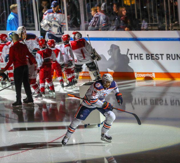 Reise in die USA zu einem Eishockey-Spiel