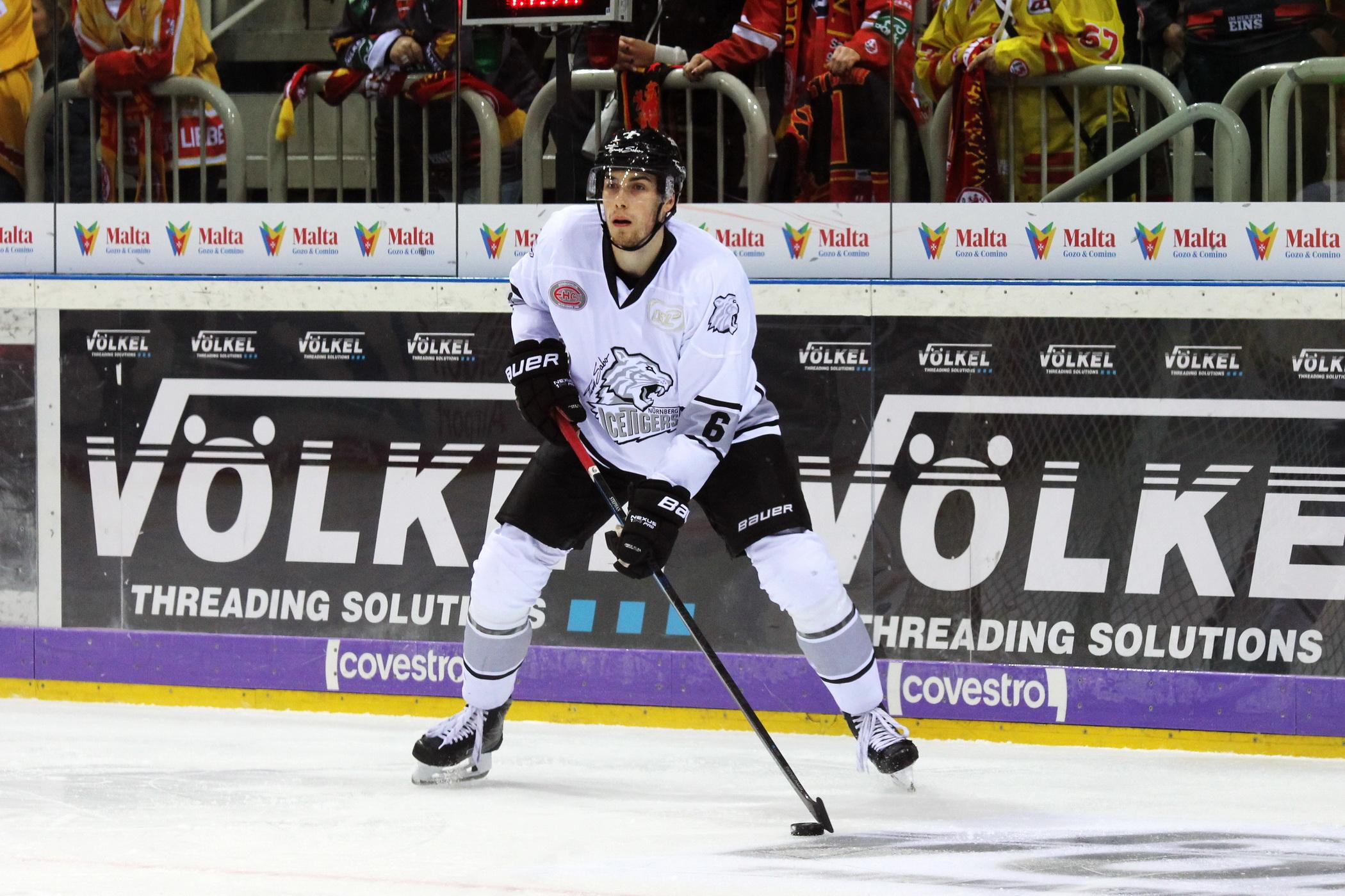 Ice Tigers Leihen Eric Stephan Nach Bietigheim Aus Eishockey Magazin