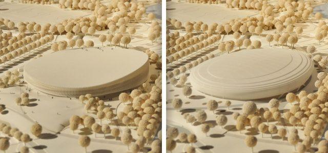 Entscheidung im Architekturwettbewerb für die neue Sportarena im Münchner Olympiapark