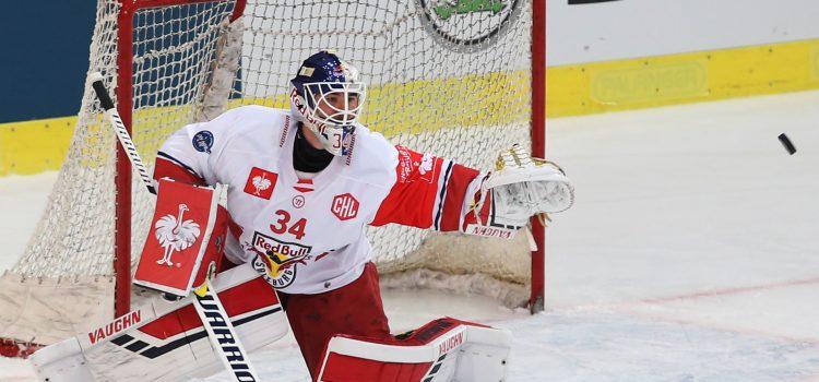 Red Bulls zum Spitzen-Spiel der Erste Bank Eishockey Liga in Wien