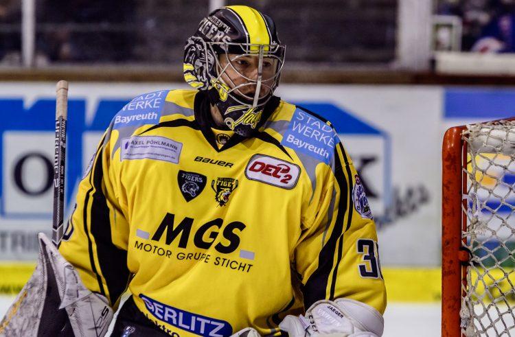 Brett Jaeger fängt weiter für die Bayreuth Tigers