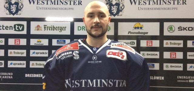 Eislöwen verpflichten Stefan Della Rovere – Klarer 6:1 Sieg gegen Kassel