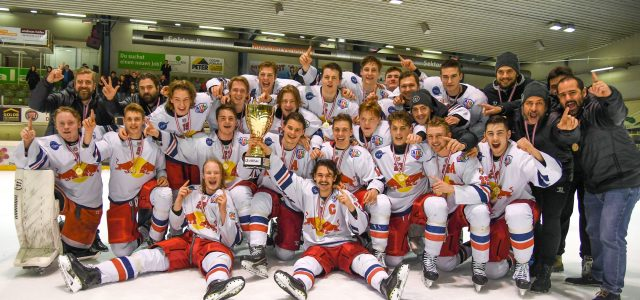 Vorbereitungsprogramm der Red Bull Hockey Juniors
