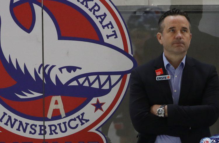 Die EBEL-Trainer im Gespräch: Heute Rob Pallin (HC Innsbruck Haie)