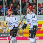 Kölner Haie ziehen nach Derbysieg an der DEG vorbei