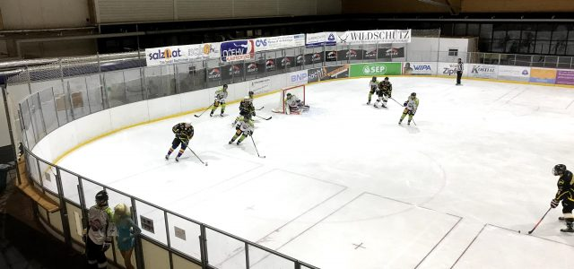 Traunsee sharks Gmunden ll vs. Innviertel Penguins 4:14