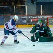 Tag der offenen Tore im Eisland, 5:8 Niederlage gegen Hannover
