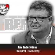 Preussens Präsident, Sven Krey, zieht Resümee über seine bisherige Amtszeit und richtet den Blick in die Zukunft