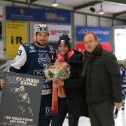 Tobias Fuchs ist EVL Rekordspieler