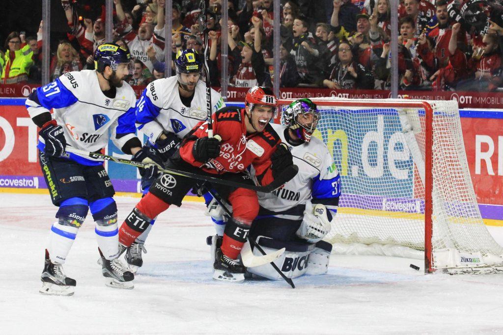 Frederik Tiffels mit dem Gamewinner gegen Ingolstadt - © by EH-Mag. (DR)