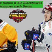 Eisbären empfangen Dominik Kahun und die Chicago Blackhawks am 29.09. zur 2019 NHL Global Series Challenge
