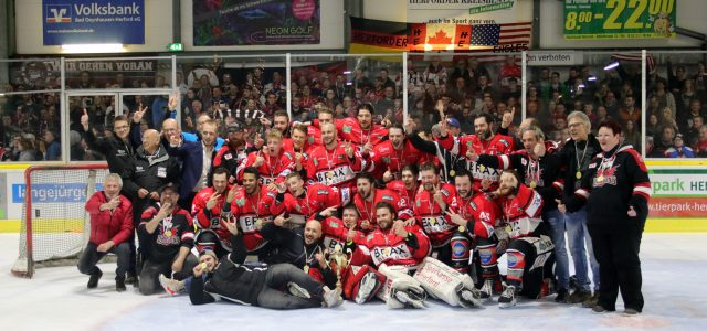 Regionalliga West: Ice Dragons verteidigen Meistertitel!
