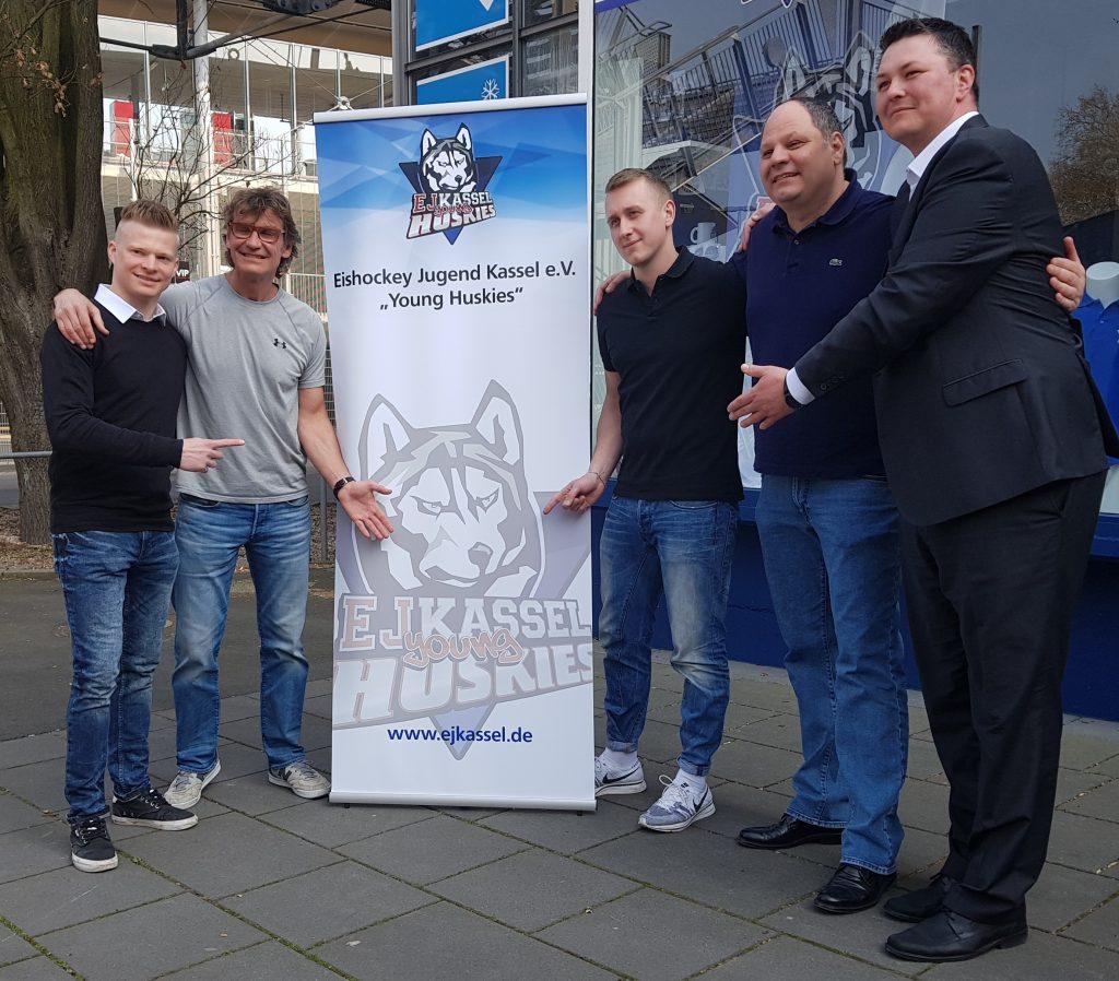 V.l.n.r.: Jan Pantkowski, Matthias Kolodziejczak, Ernst Rechetnikow, Horst Fahl und Björn Menne (Schatzmeister) - © by Eh.-Mag. (S. Christ)