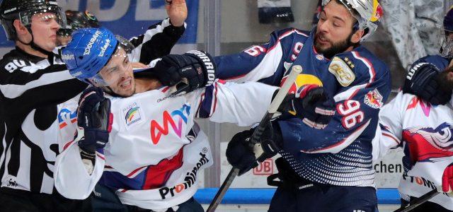 Adler Mannheim haben nach 4:0 Sieg in Mannheim eine Hand am Pott