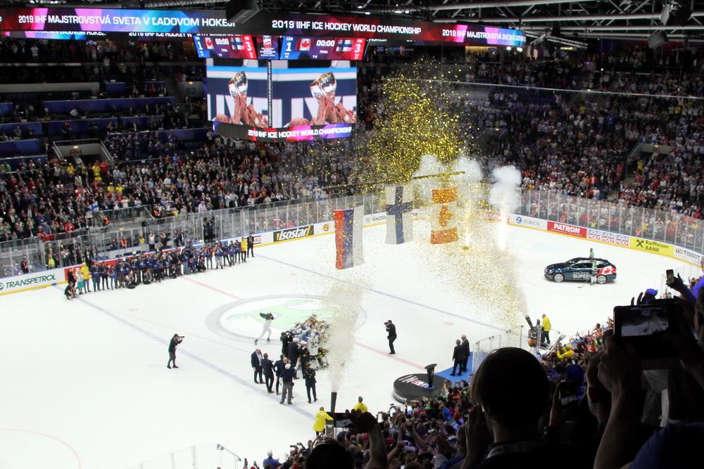 Finnland holt sich WM Titel in Bratislava - © by EH-Mag. (DR)
