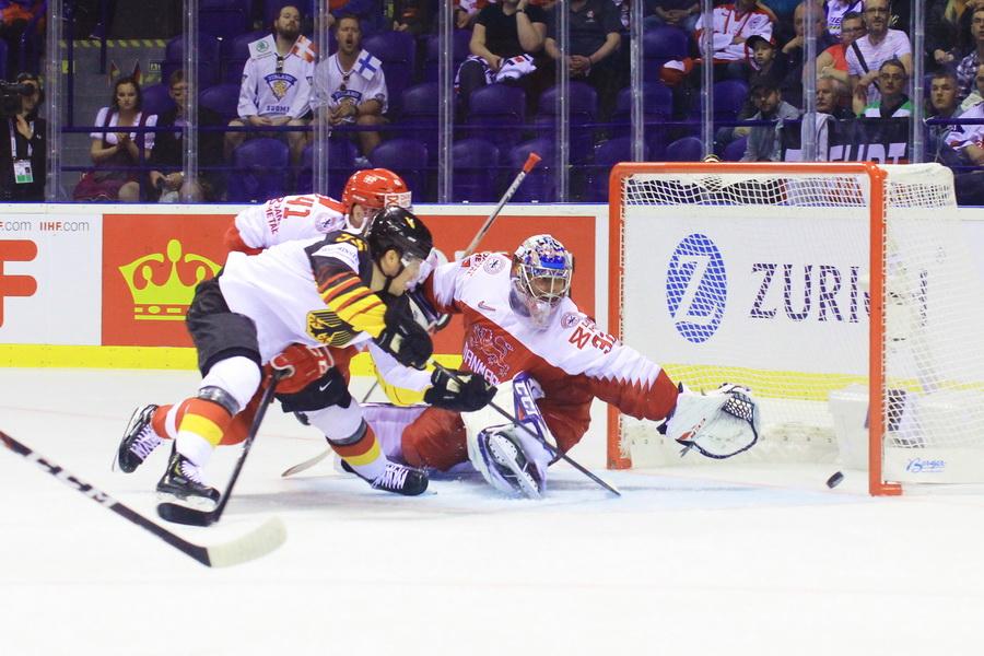 Frederik Tiffels trifft zum 2-1 gegen Dänemark - © by EH-Mag. (DR)