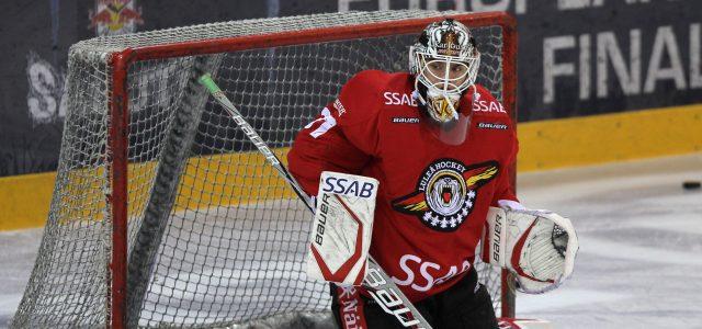 Neuer Konkurrent für Dennis Endras: Johan Gustafsson wird ein Adler