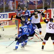 Deutschland verabschiedet sich mit einem 4:2 Sieg über Finnland von Košice