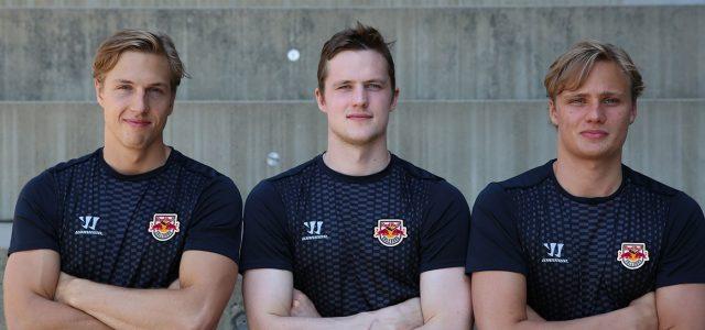 Schwedenpower in Salzburg: Drei Neuzugänge für die Red Bull Hockey Juniors