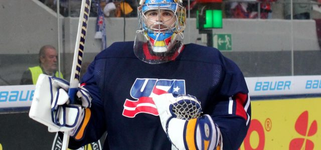 US-Olympia-Goalie Ryan Zapolski zu den Caps