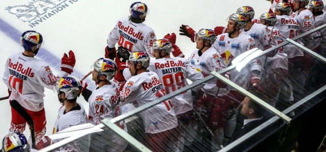 Red Bulls Salute als internationales Eishockeyfest in Kitzbühel
