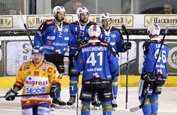 AHL: Ritten schießt Asiago mit 10:5-Toren vom Eis