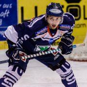 Kassel Huskies gegen EV Landshut 5:4 – Ehrung für Ben Duffy vor Spielbeginn