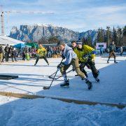 Pond Hockey EM: Die Vorbereitungen laufen am Ritten auf Hochtouren