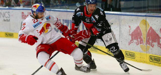 Kevin Wehrs geht für den EV Landshut aufs Eis
